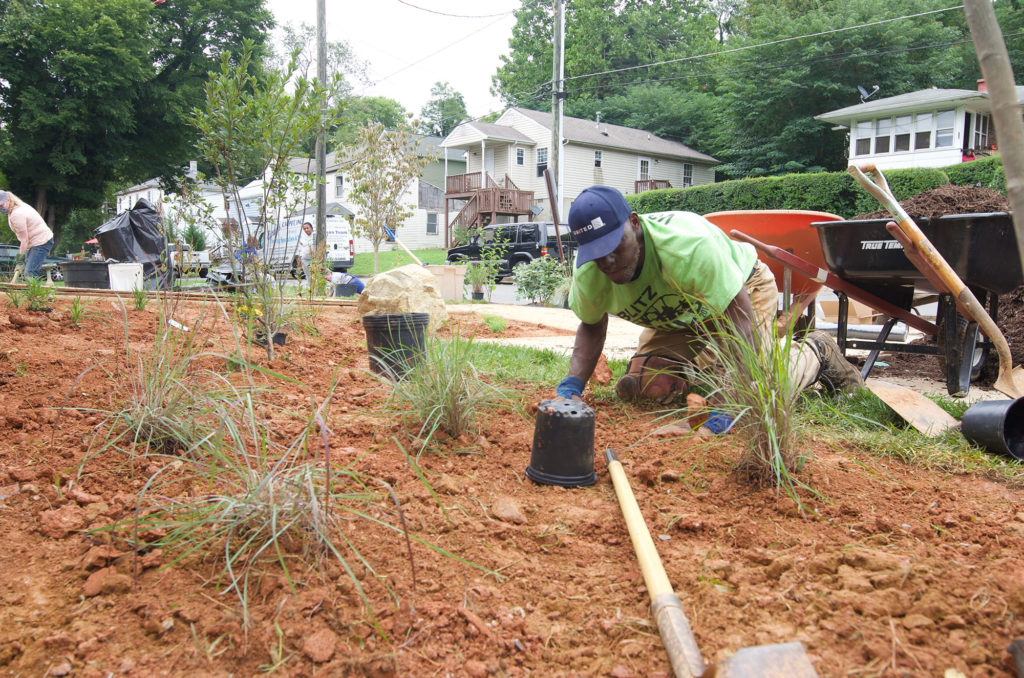 Fauquier Habitat goes native around Haiti house