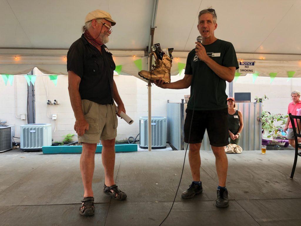 PEC's Piedmont Mobility Alliance recognizes retired Albemarle Greenways Coordinator Dan Mahon