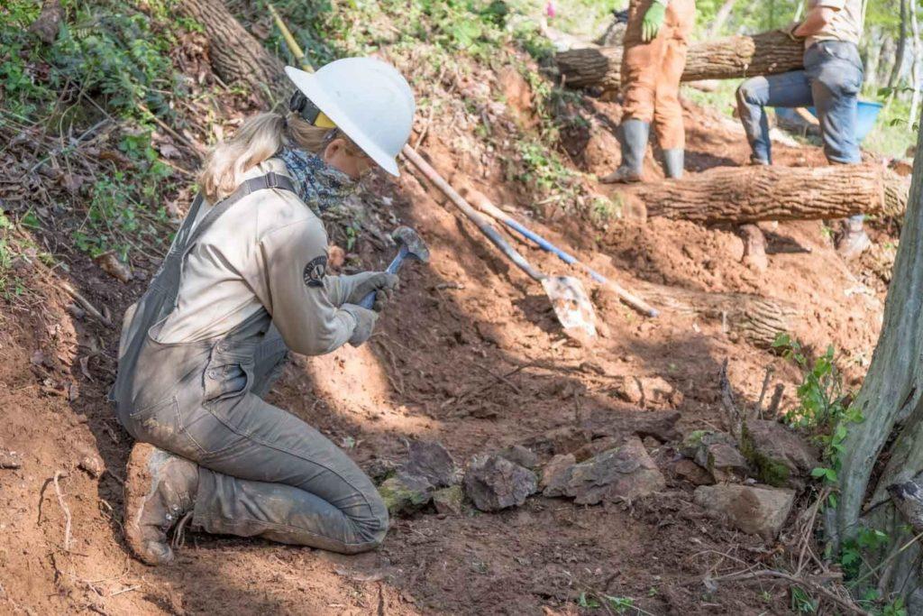 Appalachian Conservation Corps blaze new trail at Rappahannock County Park