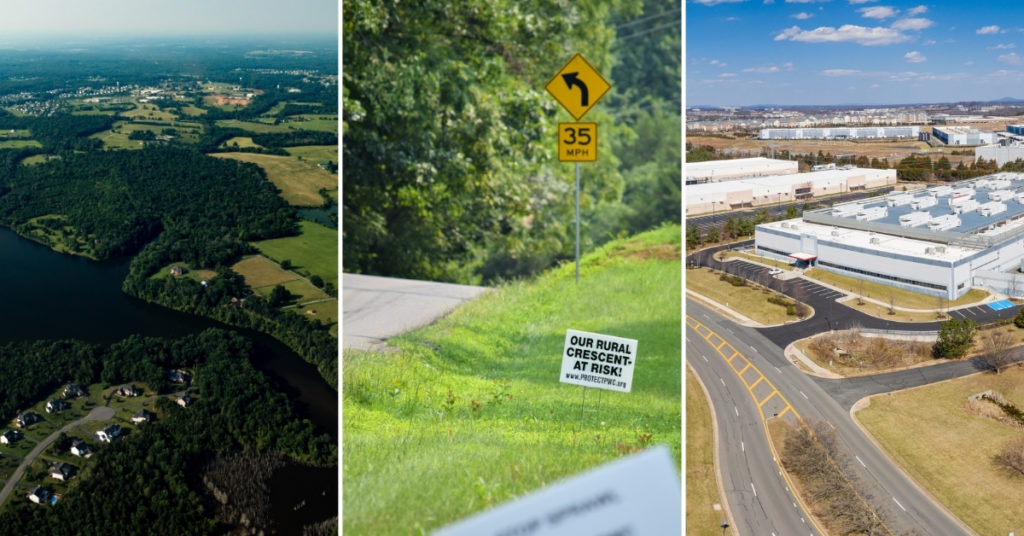 StoryMap: Threats of Data Center Development in the Rural Crescent