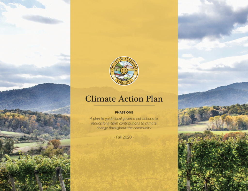 Albemarle County Adopts Climate Action Plan