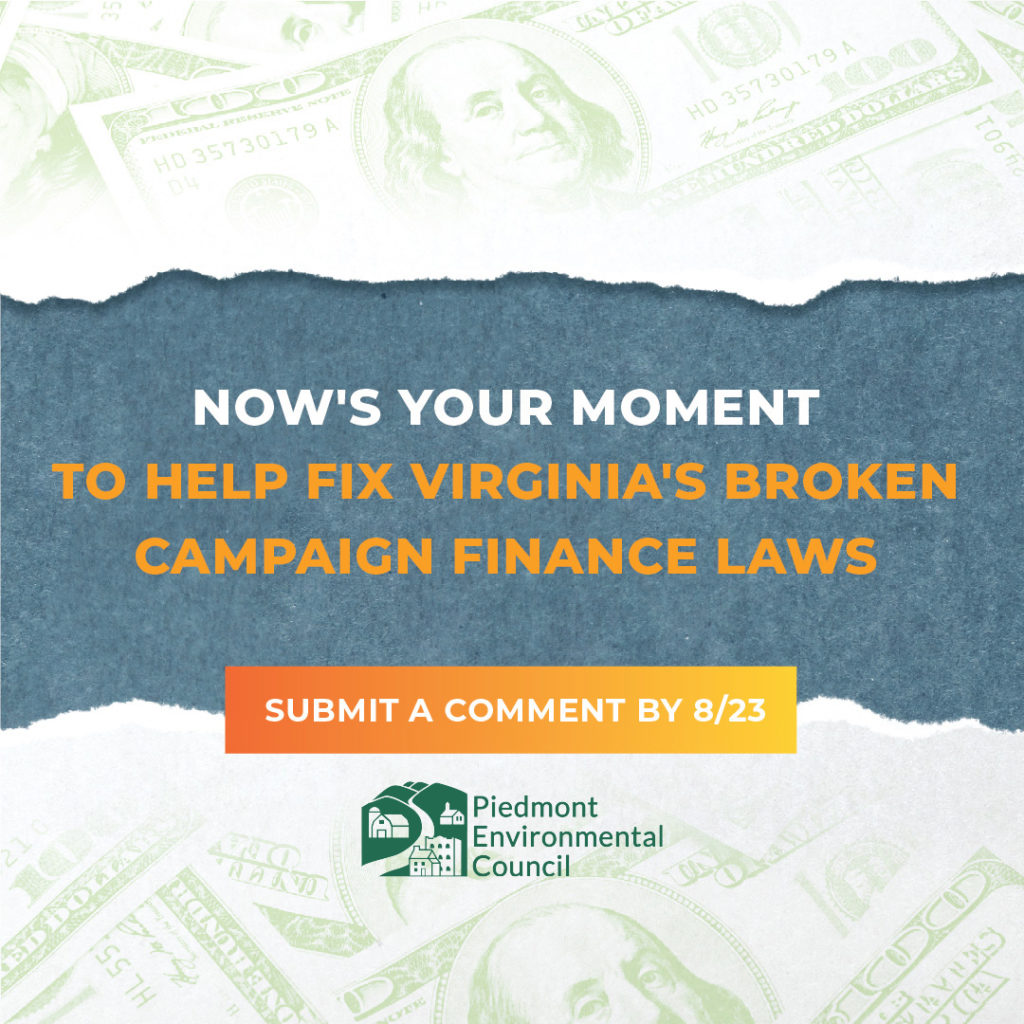Act Now to Clean up Virginia Politics