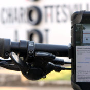 Virtual Public map on phone