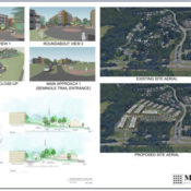 RST Residences Aerial Site View Concept Albemarle County
