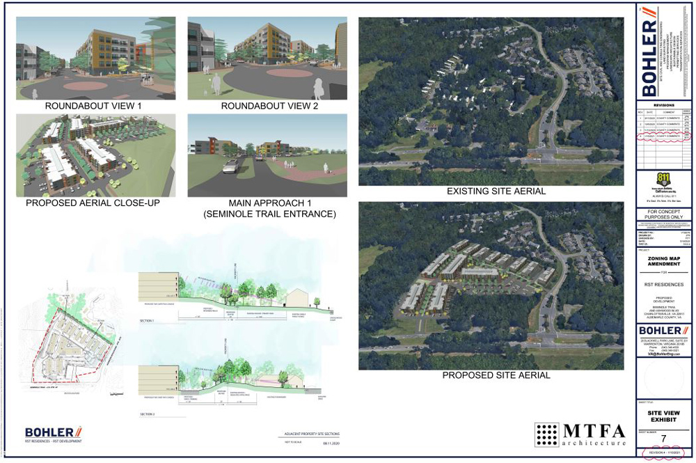 RST Residences Rezoning Application in Albemarle County