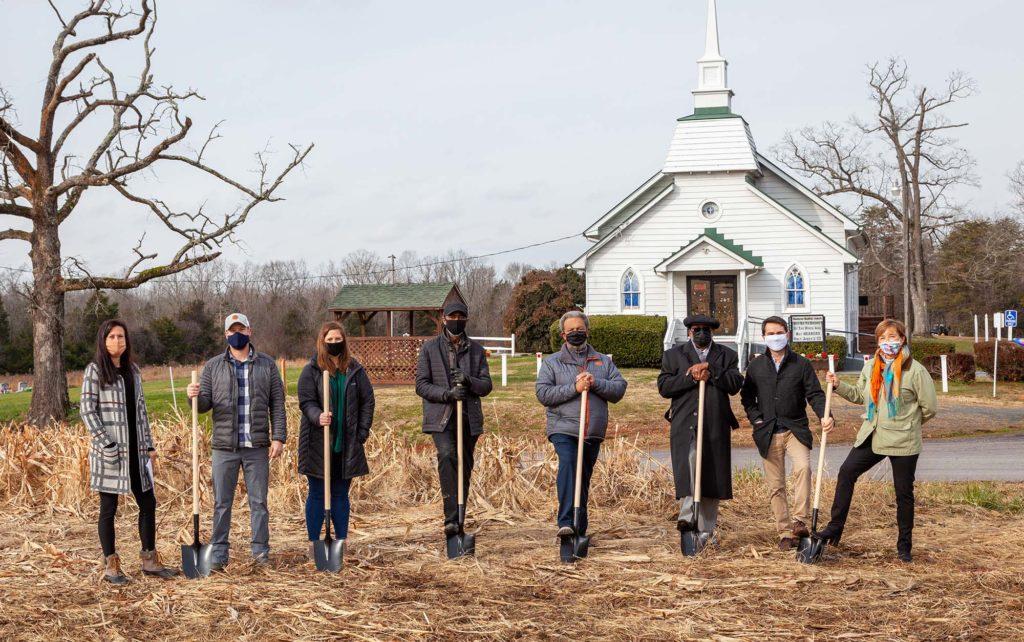 Groundbreaking for New Memorial Site Honoring African American History