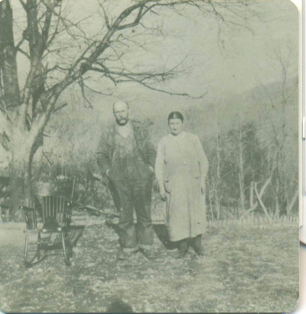 William Jackson Rutherford with wife Elnora