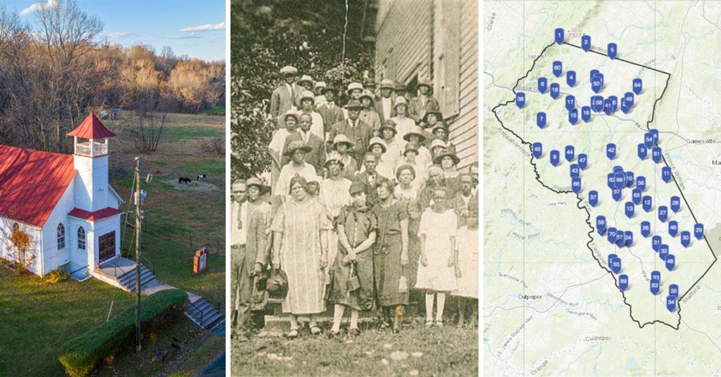 first ashville baptist church; mt. olive church family; fauquier county storymap