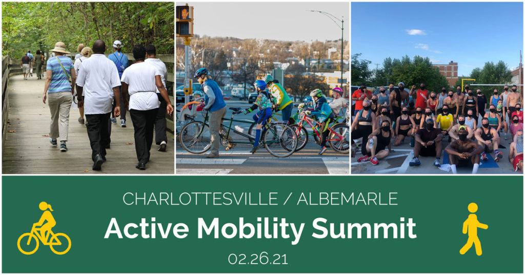 Charlottesville / Albemarle Active Mobility Summit