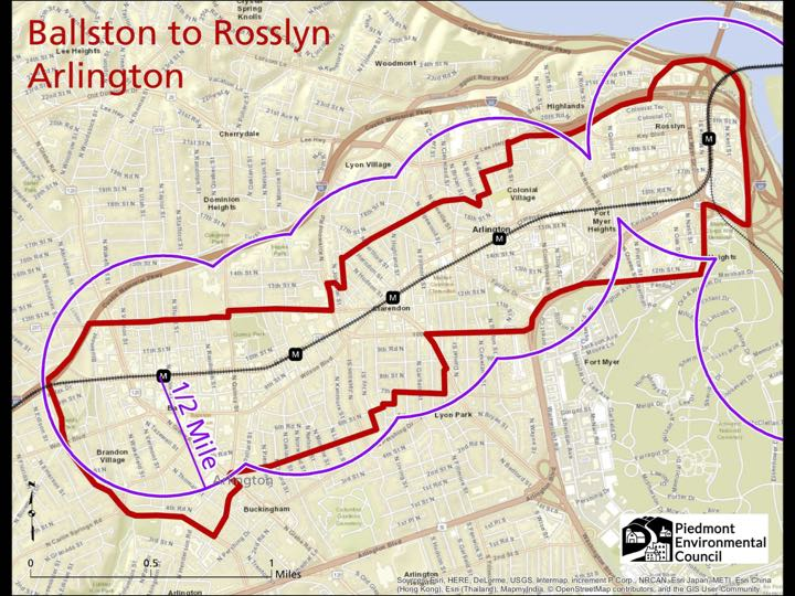 Arlington-Ballston corridor