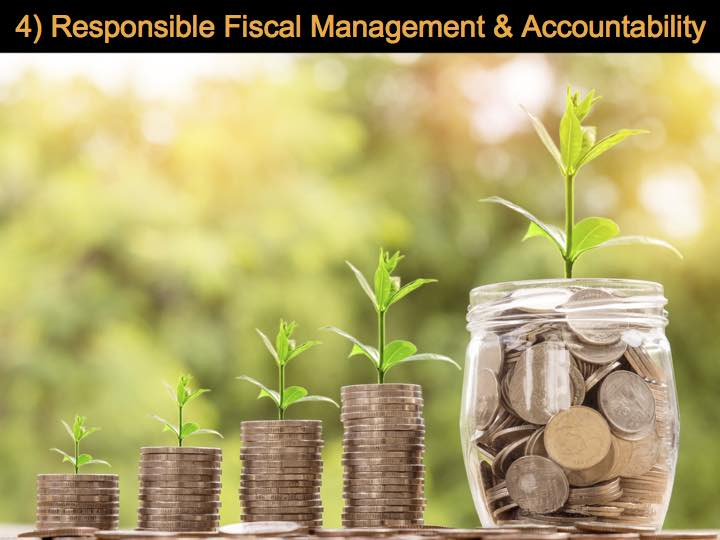 Responsible Fiscal Management & Accountability