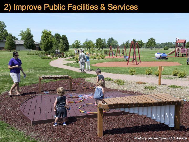Improve Public Facilities & Services