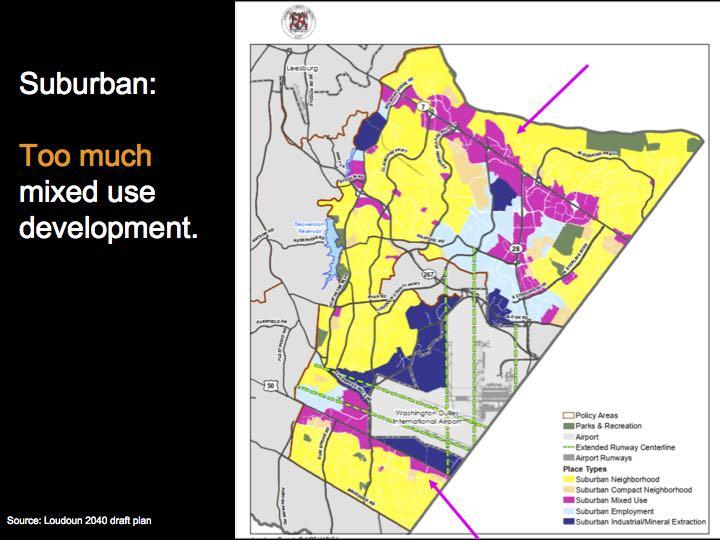 Suburban Policy Area proposal