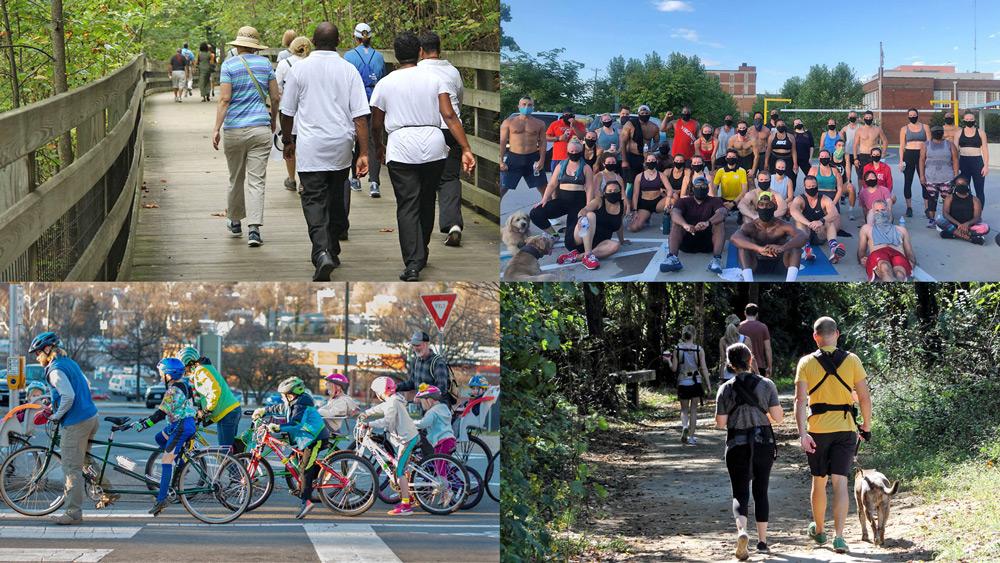 biking/walking