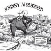 Johnny Applegreed comic strip