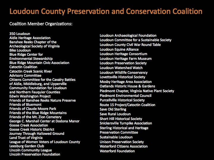 Loudoun County Preservation and Conservation Coalition