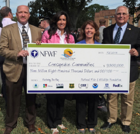 National Fish and Wildlife Foundation Grant