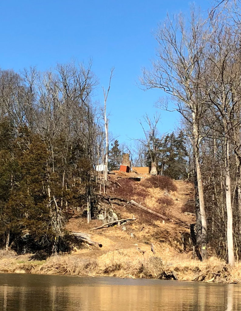 steep slopes at goose creek overlook