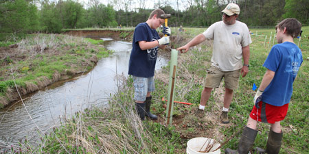 Impoving Water Quality – Through Good Land Management