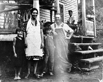 Rosser Lamb Family c.1930