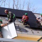 solar install at PEC office