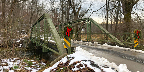 Jordan River Bridge Under Threat