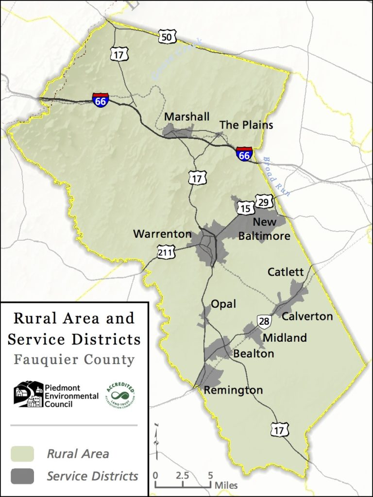 Fauquier County Updating the Rural Lands Plan