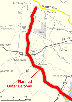 The Problem with the Outer Beltway