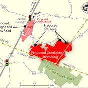 Creekside—More Development and More Traffic on Rt. 29