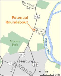 Rt. 15 map