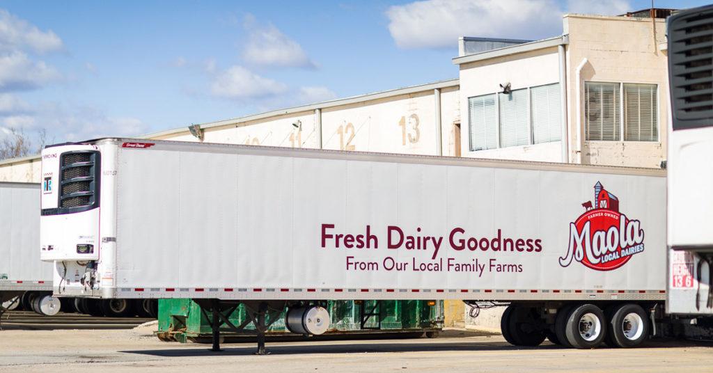 moala dairy truck