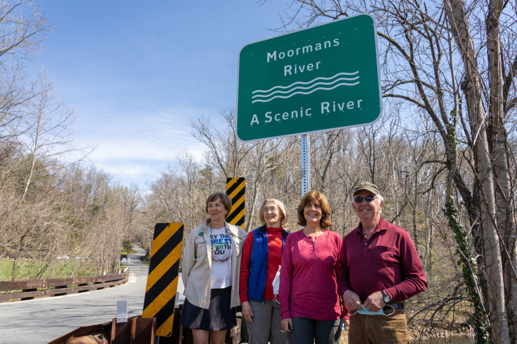 New Virginia Scenic River Signs Unveiled along Moormans River