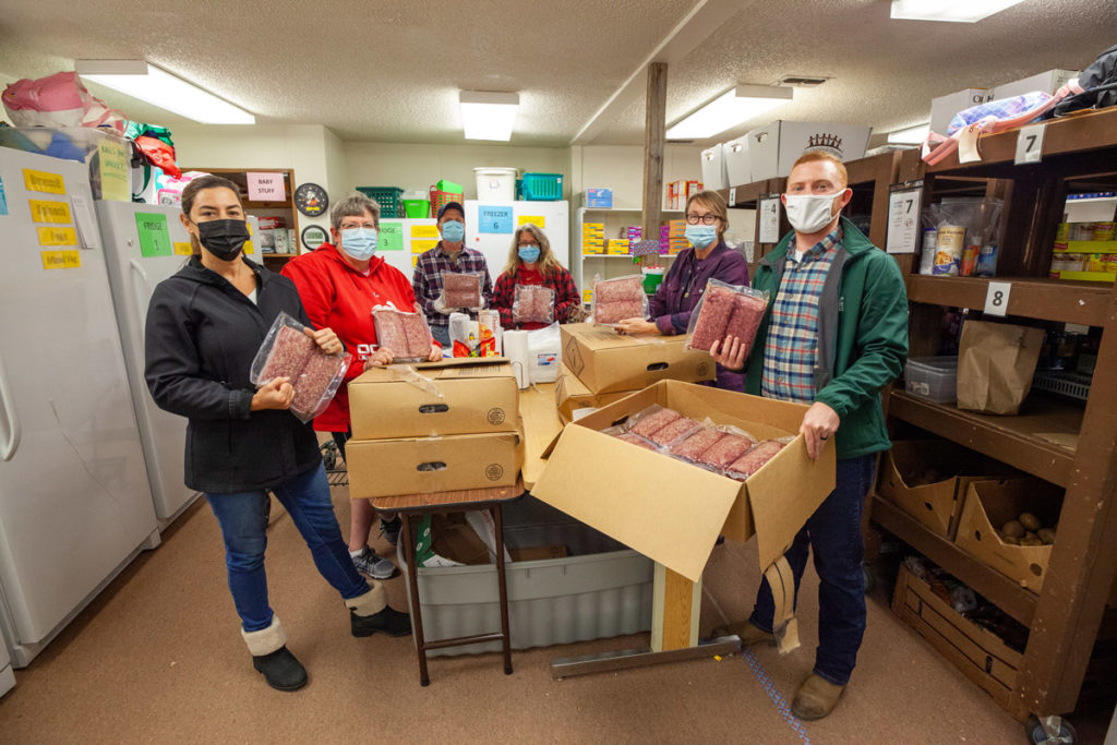 beef drop-off at fauquier food pantry