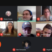 fellows on video chat