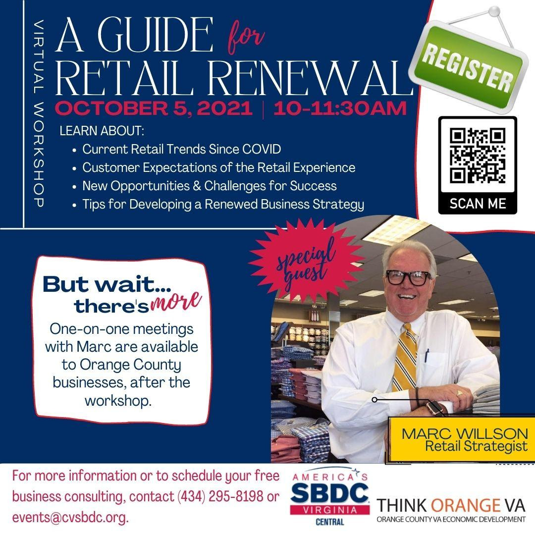 A Guide to Retail Renewal graphic