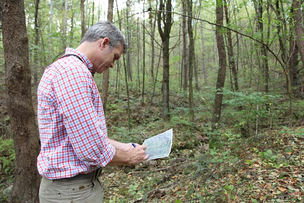 PEC Conservation Field Representative Rex Linville. Photo by Marco Sanchez.