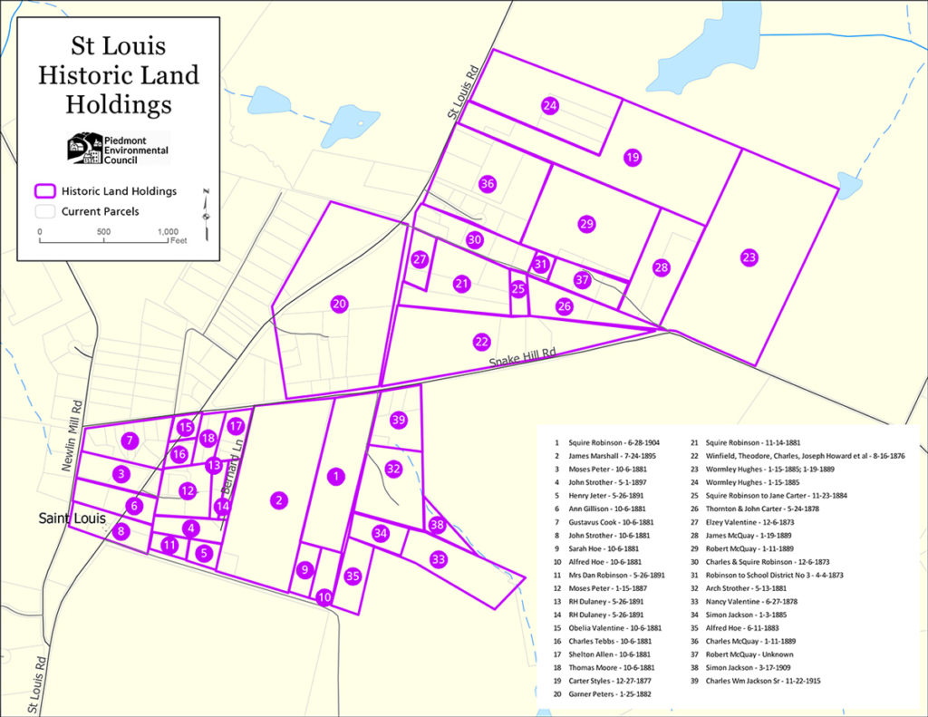 map of st. louis historic land holdings