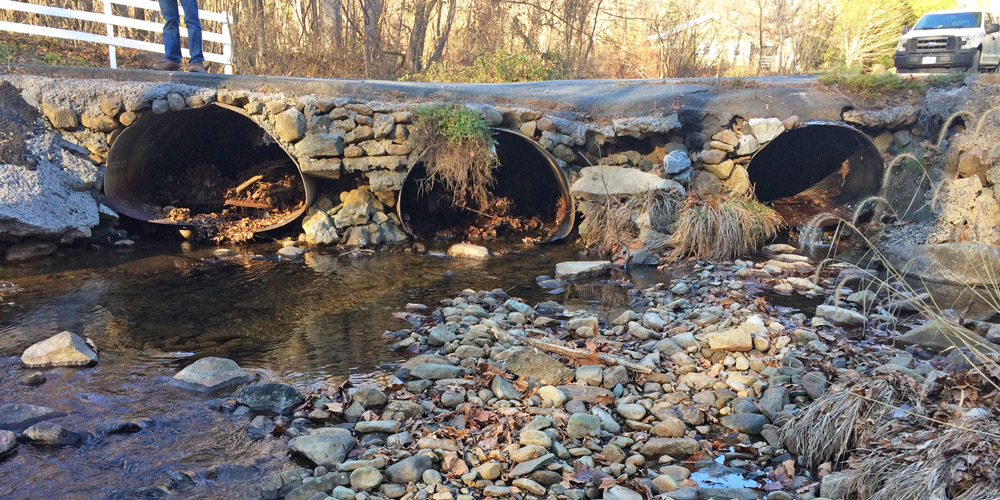 Piney River culvert