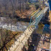 waterloo bridge installation